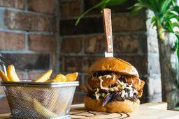 Lubbock's Modern Cowboy Burger