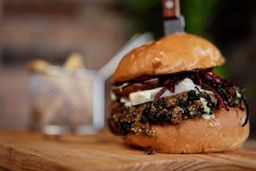 Keep Austin Vegan Burger