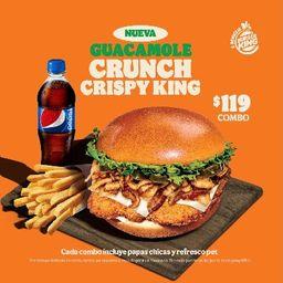 Combo Guacamole Crunch Crispy King