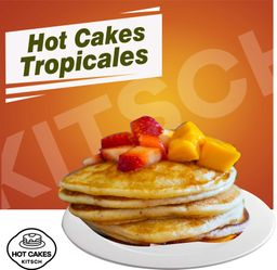 Hot cake tropicales