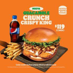 Guacamole Crispy King Pollo