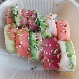 Sushi arcoiris