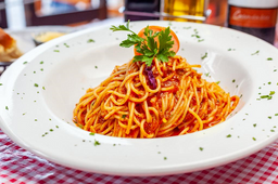Spaguetti sin Gluten Opcional Salsa