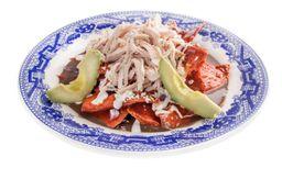 Chilaquiles Yucatecos en Salsa Pibil