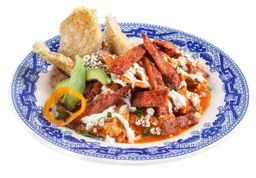 Chilaquiles Salsa de Chicharrón