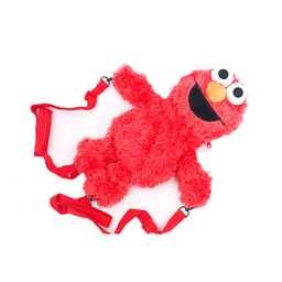 Miniso Mochila de Moda Peluche Elmo