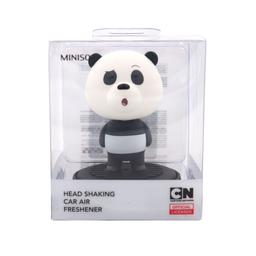 Miniso Aromatizante Para Auto Cabeza Movible Panda Oriental