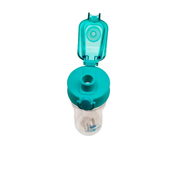Miniso Cilindro de Pl�stico Tritan Azul 450 mL