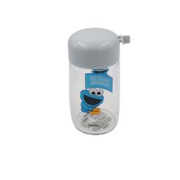 Miniso Vaso de Vidrio Sesame Street Azul 300 mL