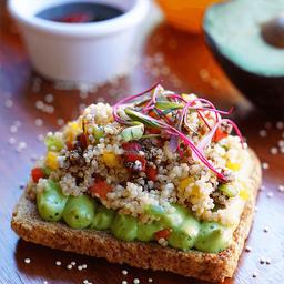 Avocado de Quinoa
