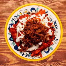 Chilaquiles de Carne Asada
