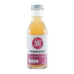 Kombucha La Semilla Colectivo sabor pétalos de rosa 365 ml **