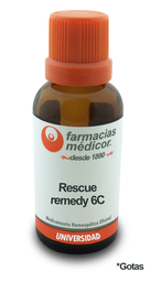 Rescue remedy 6c gotas