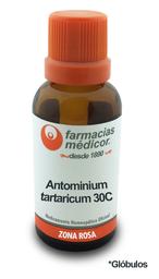Antimonium tartaricum 30c glóbulo