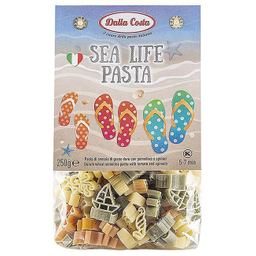 Sea life pasta