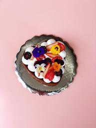 Pastel de corazón mini
