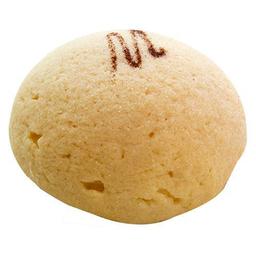 Concha blanca de mantequilla