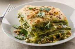 Lasagña de Pesto Vegetariana