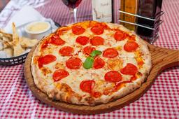 Pizza de Pepperoni + Pan de Ajo