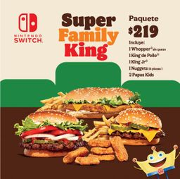 Super Family King  Mes del Niño