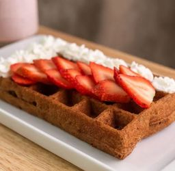 Waffle Bruselas Canela