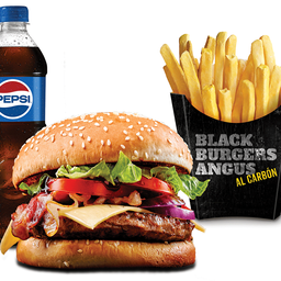 Combo Black Burger Classic