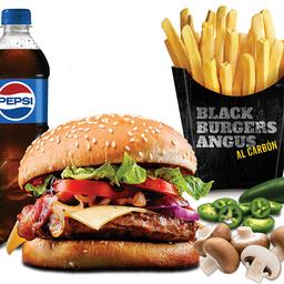 Combo Jalapeño Burger
