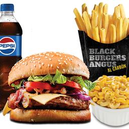Combo Mac & Cheese Burger