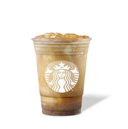 Caramel Affogatto Cream Frappuccino