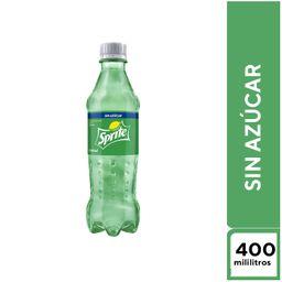 Sprite Sin Azúcar 400 Ml.