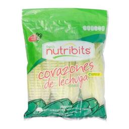 Corazones De Lechuga Nutribits 1 Paquete Con 3 Pzas