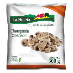 Champiñón La Huerta Rebanado Congelados 300 G