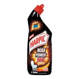 Limpiador Desinfectante Para Inodoro Harpic Active Gel Max Powe.
