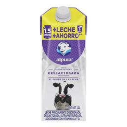Leche Alpura Deslactosada 1.5 L