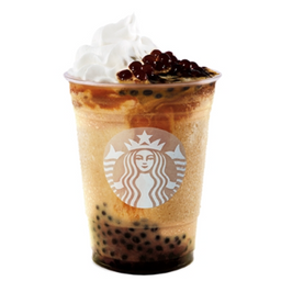 Caramel Coffee Spheres Frappuccino