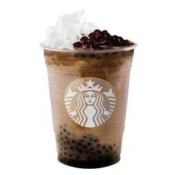 Mocha Coffee Spheres Frappuccino