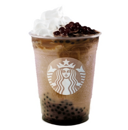 Mocha Coffee Spheres Frappuccino