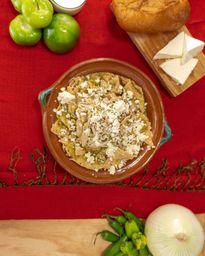 Chilaquiles de Huevo