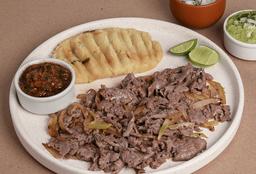 Tacos de Rib Eye al Pastor