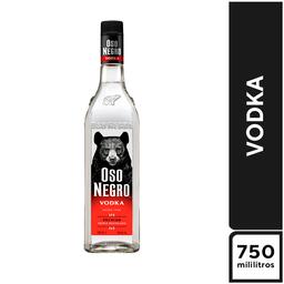 Vodka Oso Negro 750 ml