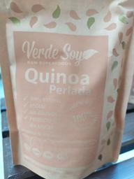 Quinoa Perlada Verde soy