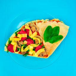 Crepa Pizza de Champiñón