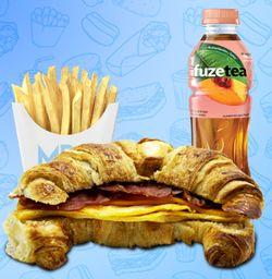 Combo Croissant Mr Egg
