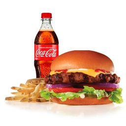 Combo Original Big Angus Burger