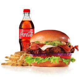 Combo Guacamole Bacon Big Angus Burger