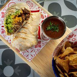 Burrito con Carne Asada