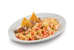 Huevo a la Mexicana con Jamón