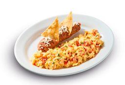 Huevos a la Mexicana (2 piezas)