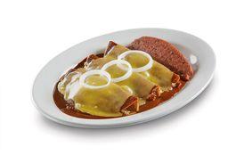 Enchiladas de Mole Gratinadas (3 pzas.)