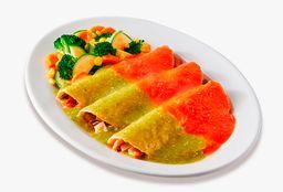 Enchiladas Campesinas (3 pzas.)